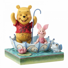 disney traditions winnie en knorretje in paraplu